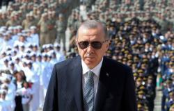 ظهور لأردوغان ببدلة طيار في مهرجان بإسطنبول (شاهد)