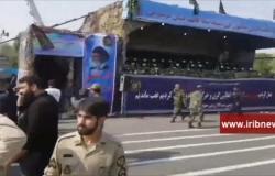 قتلى بهجوم على عرض عسكري جنوبي إيران