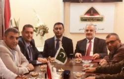 سفير باكستان زار جمعية تجار لبنان الشمالي