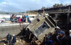 النيابة العامة بالمغرب تعتقل سائق قطار وتتهمه بالقتل الخطأ