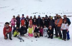 بطولة لبنان في تزلج العمق