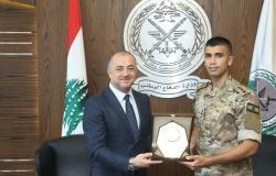 ضابط لبناني يتفوق على زملائه الأجانب في ايطاليا