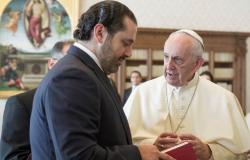 الحريري التقى البابا… وهدية تذكارية من الرئيس المكلف