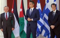 تأكيد أردني قبرصي يوناني على الالتزامبحل سياسي لأزمةليبيا