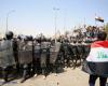 قصف مدفعي إيراني شمال العراق واحتجاجات شعبية في جنوبه